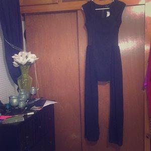 NWT Foreign Exchange Cecico Mini Dress w/Sheerside